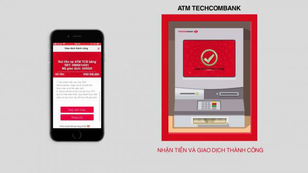 Chuyển tiền từ cây ATM