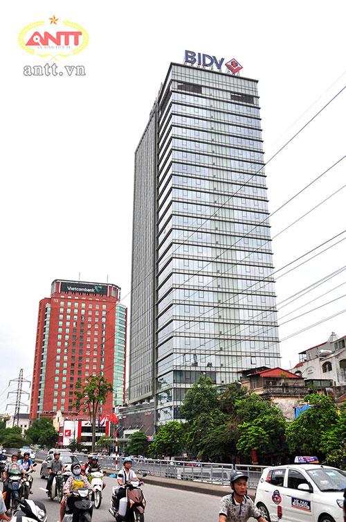 Hội sở của BIDV và Vietcombank