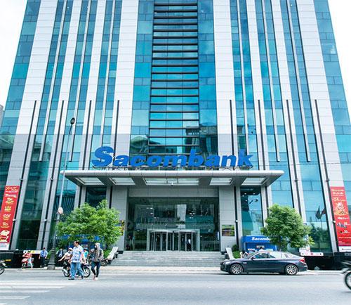 Hội sở Sacombank. Ảnh Sưu tầm